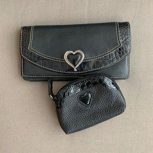 Brighton Wallet + Coin Bag